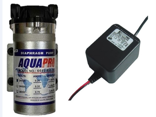 Bomba Y Transformador Aquapro Osmosis Inversa 400gpd 24v