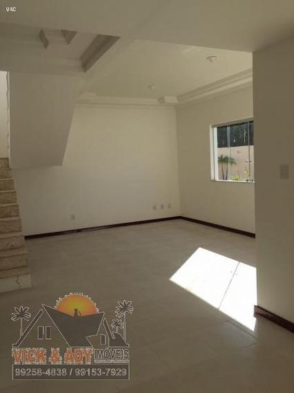 Casa Em Condomínio Para Venda Em Lauro De Freitas, Buraquinho, 4 Dormitórios, 4 Suítes, 5 Banheiros, 2 Vagas - Vs107