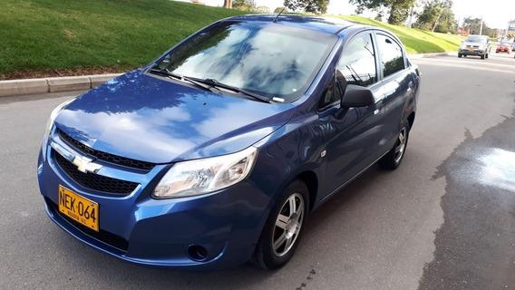 Chevrolet Sail Ls Azul 2013