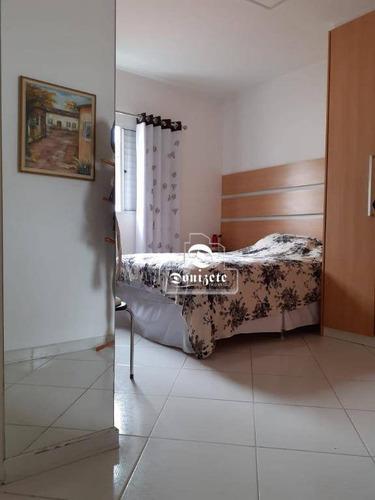 Sobrado Com 3 Dormitórios À Venda, 173 M² Por R$ 800.000,00 - Vila Guiomar - Santo André/sp - So3296
