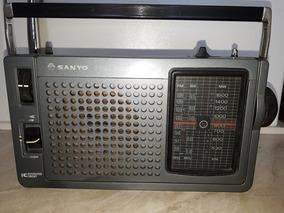 Rádio Antigo Sanyo 3 Band Receiver (funciona) Lupa Raridades