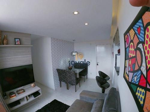 Apartamento Com 2 Dormitórios À Venda No Spazio Campo Di Bragança Em São José Dos Campos/sp - Ap2565
