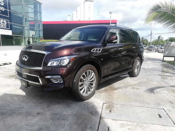 Infiniti Qx80 5.6l Perfection 7 Pasajeros At 2017