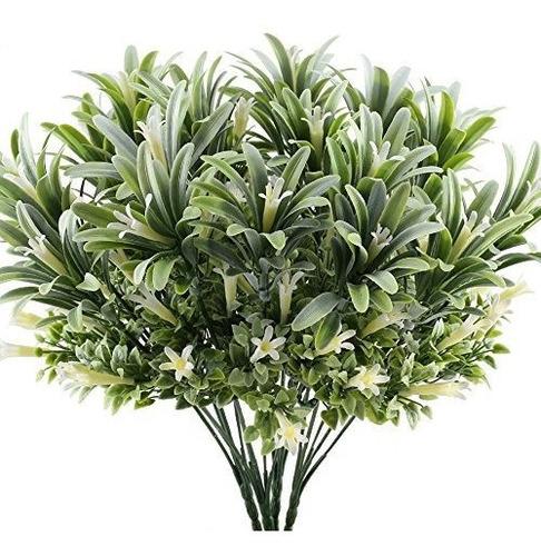 Imagen 1 de 5 de Gtidea 4 Unids Plástico Artificial Flores Plantas Arbustos