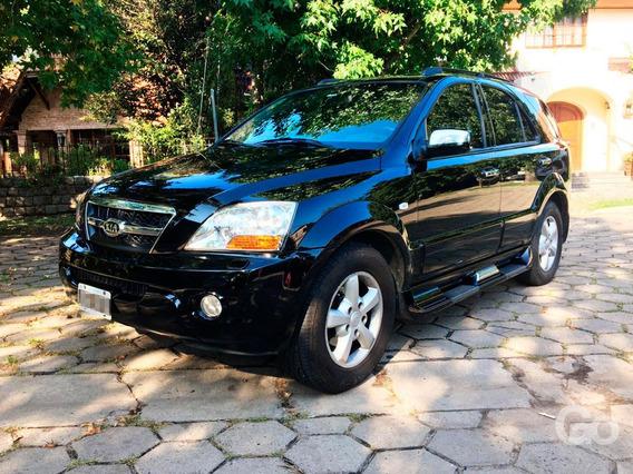 Kia Sorento 2.5 Ex Cdri Aut. 4x4 170c 2009 Cuero Negra