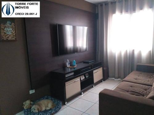 Imagem 1 de 15 de Apartamento Com 2 Dormitórios E 1 Vaga Em São Bernardo Do Campo - 2476