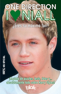 Libro One Direction I Love Niall *sk