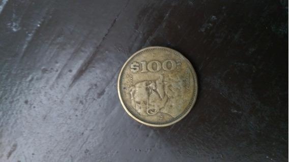 Moneda Antigua 100 Pesos Mexicanos 1989
