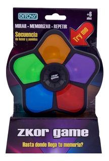 Juego Memoria Zkor Game Luz Y Sonido Tv Original Ditoys