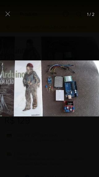 Livro Arduino Em Açao + Brinde