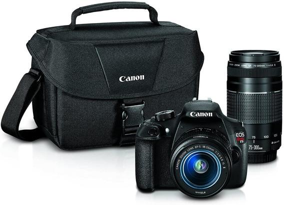 Câmera Profissional T5 Canon - Semi Nova Quase Nunca Usada