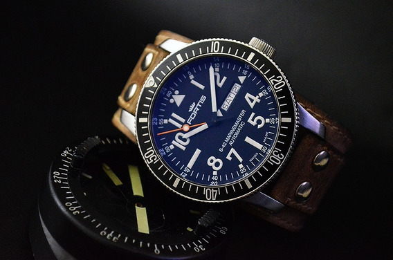 Fortis B42 Marinemaster Cosmonaut Automatic Lindo E Enorme
