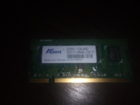 Memoria Sodimm 1 Gb 800 Mhz Note/net