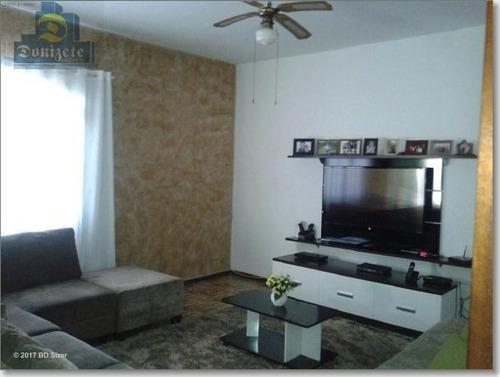 Sobrado Com 3 Dormitórios À Venda, 191 M² Por R$ 630.000,00 - Vila Aquilino - Santo André/sp - So0003