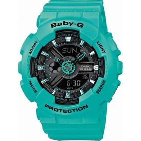 Relógio Feminino Casio Baby-g Ba-111-3adr Original Garantia