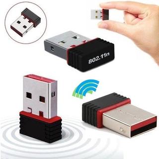 Antena Wifi Usb Mini Tarjeta Receptor 150mbps 802.11n/g/b Pc