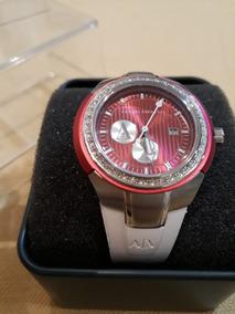 Relógio Feminino Armani Exchange Ax5050 -importado Com Caixa