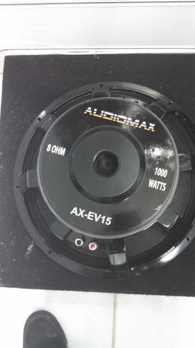 Imagen 1 de 1 de Bocinas De #15 Audiomax Ev De 1000w