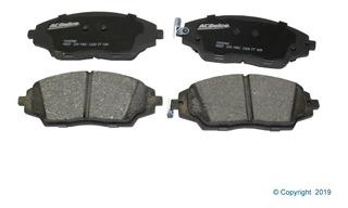 Balatas Delanteras Chevrolet Sonic 1.6 Lde 12/17 Acdelco