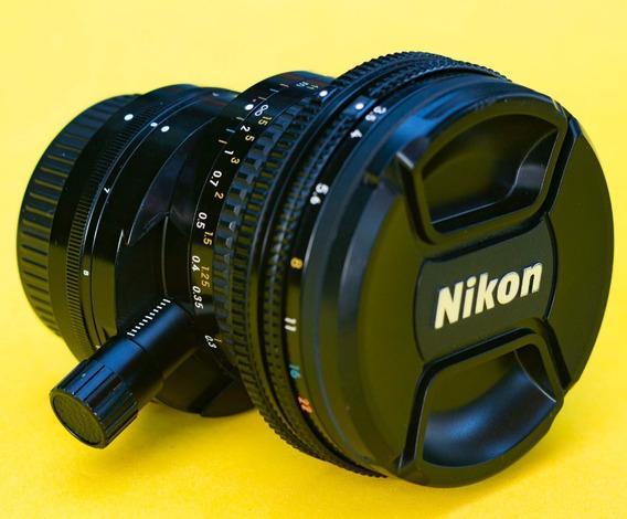 Lente Nikon 28mm 3.5 Pc Ai