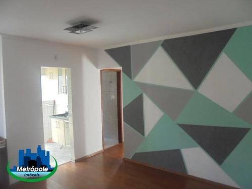 Apartamento Com 2 Dormitórios Para Alugar, 55 M² Por R$ 1.245/mês - Jardim Cocaia - Guarulhos/sp - Ap1296