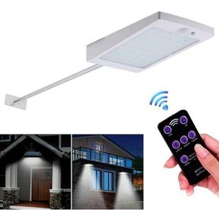 Lampara Solar 48 Led Con Sensor Y Prende Permanentemente