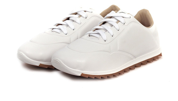 Zapatillas Mujer Estefania Cuero Ecologico Moleca