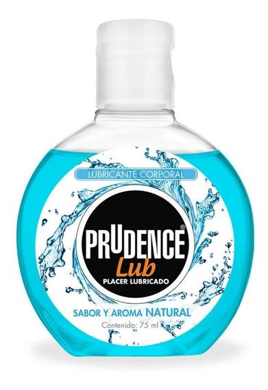 Lubricante Prudence Sabor Y Aroma Natural 75 Ml