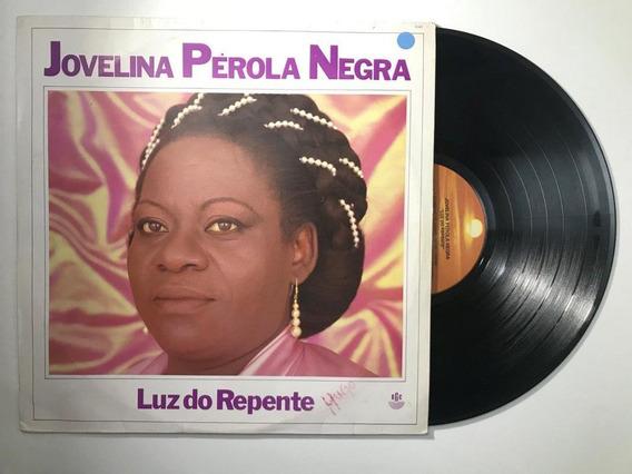 Lp Jovelina Pérola Negra Luz Do Repente Encarte - Ld