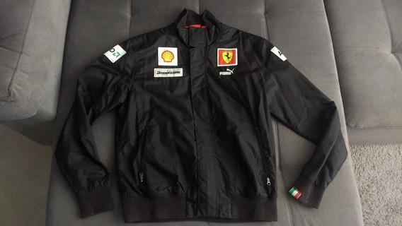 Jaqueta Oficial Da Ferrari F1 - Puma - Comprada Na Italia