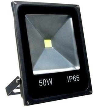 Refletor Led 50w Branco Frio Holofote Bivolt 6000k