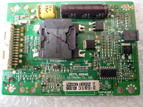 Placa Inversora Da Tv Lg Codigo Lc320dxn-aber2/u2