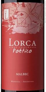 Vino Lorca Poetico Malbec O Cabernet O Franc X 750 Cc