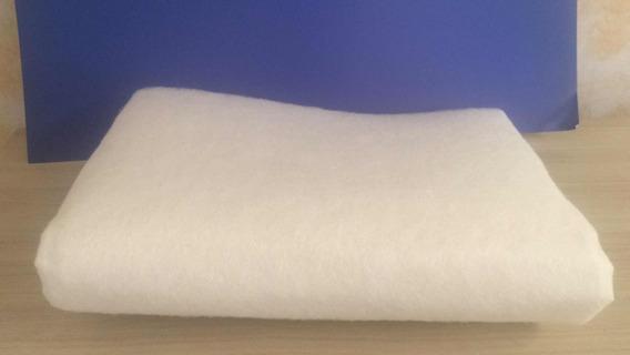 Feltro R2 Branco Não Tecido 1,50mm De Largura X 1 Metro