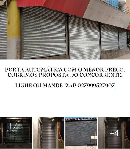 Porta De Aço Automática Para Todo Brasil