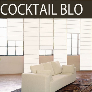 Persiana Romana Blackout 1.8x2.4m Color Blanco
