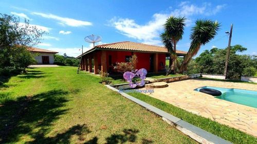 Chácara Com 2 Dormitórios À Venda, 4850 M² - Aparecidinha - Araçariguama/sp - Ch0039