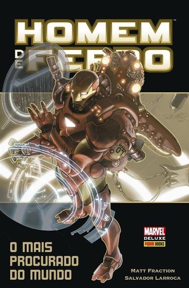 Marvel Deluxe: Homem De Ferro - O Mais Procurado Do Mundo