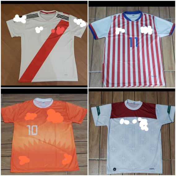 Camisetas De Times De Futebol Para Atacado Kit 10 Unidades