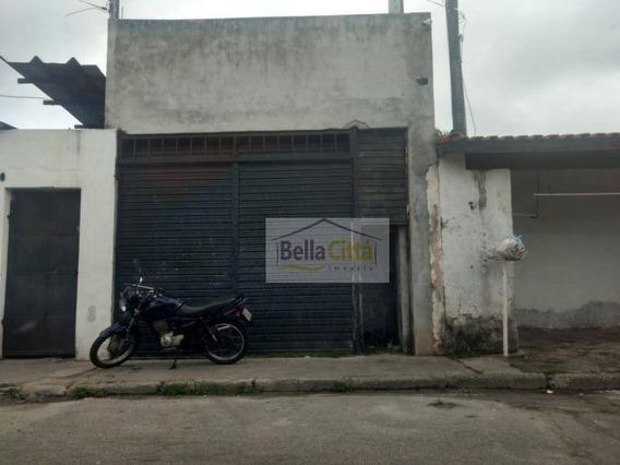 Galpão Para Alugar, 150 M² Por R$ 1.200,00/mês - Jardim Rodeio - Mogi Das Cruzes/sp - Ga0029