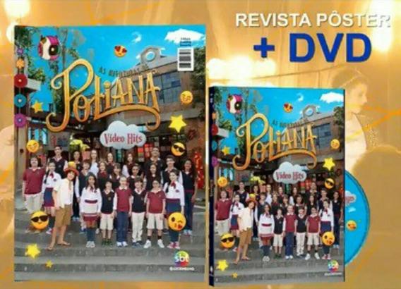 Dvd + Cd As Aventuras De Poliana - Trilha Sonora De Novela