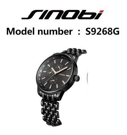 Relógio Sinobi Masculino - Pronta Entrega