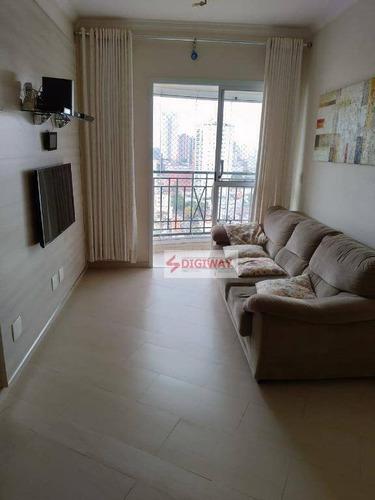 Imagem 1 de 12 de Apartamento Com 2 Dormitórios À Venda, 67 M² Por R$ 529.999,99 - Ipiranga - São Paulo/sp - Ap1838