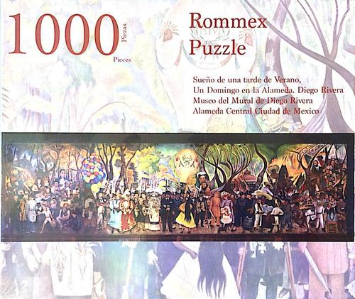 Rompecabezas De 1000 Piezas: Mural Sueño De Una Tarde