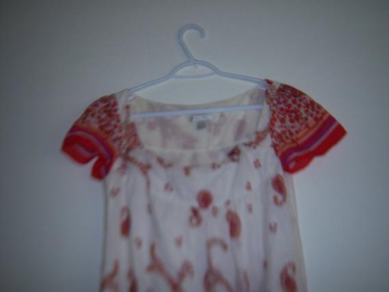Vestido Para Dama Escote Cuadrado T- Med. Color Blanco