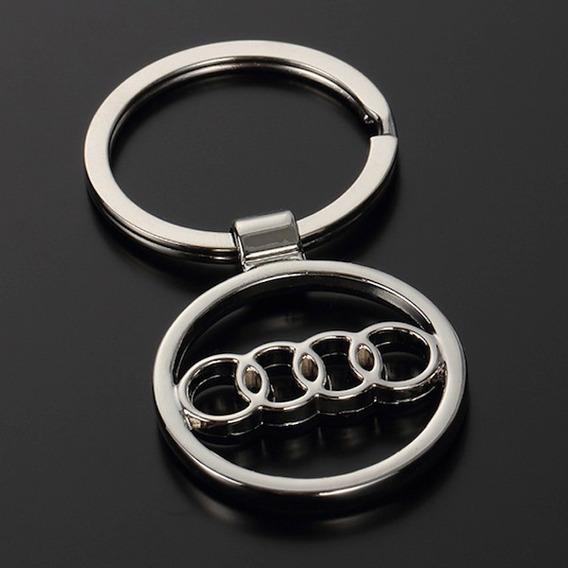 Chaveiro Automotivo Audi Presente Aço A3 A4 A5