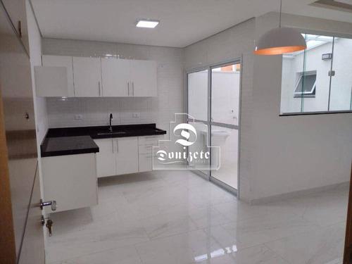 Imagem 1 de 8 de Apartamento À Venda, 51 M² Por R$ 350.000,00 - Campestre - Santo André/sp - Ap17296