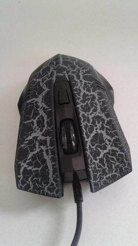 Mouse Laser Gamer Soldado Usb 3200 Dpi Pc Notebook Para Jogo