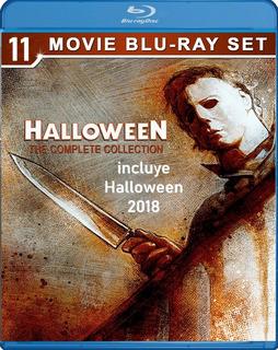 Halloween Bluray Latino Coleccion Completa 1978-2018