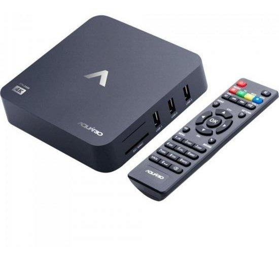 Smart Tv Box Android Resolução 4k Full Smarttv Aquario